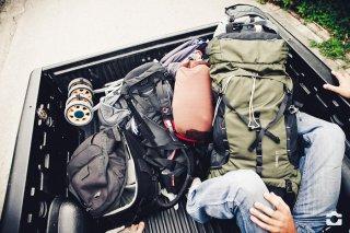 Viel Gepäck