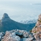 suedafrika_092: Sicht vom Table Mountain auf den Lions Head