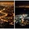 suedafrika_093: Kapstadt bei Nacht vom Signal Hill